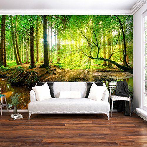 SENSATIONSPREIS !!! Fototapete Wald 352 x 250 cm - Vliestapete - fototapete wald schlafzimmer
