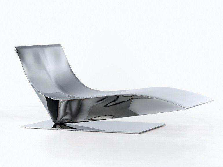 Stainless Steel Lounge Chair Lofty Collection By Mdf Italia Design Piergiorgio Cazzaniga N Ca Chair Design Modern Chair Design Scandinavian Furniture Design