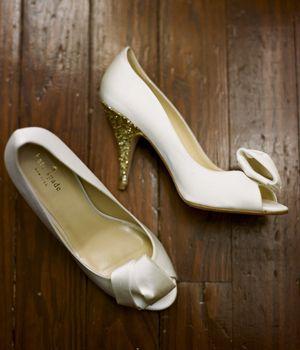 sparkly-heeled Kate Spades | A Bryan Photo