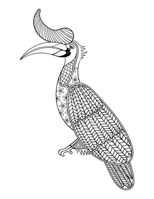 Free Stress Relief Coloring Page | Animal coloring pages ...