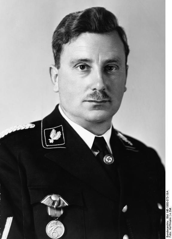 #Emil #Maurice was SS member No. 2 after Adolf Hitler and the leader of Hitler's first bodyguard detail. A close friend of the Leader from the old days, Maurice claimed a special position in Hitler's inner entourage. #Himmler (SS member No. 168) was deeply jealous of Maurice and tried to expel him from the SS because of Maurice's distant Jewish ancestry. The effort failed because of Hitler's personal intervention. Maurice survived the war and died in 1972.