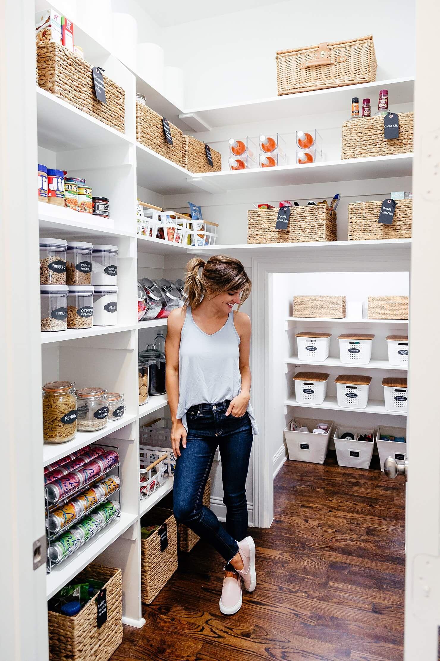 We Organized My Pantry   Despensa, Cocina pequeña y Deco