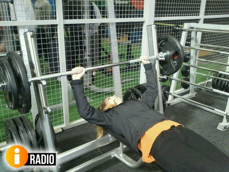 Fergal Darcy And The ITeam Were Out About At Warehouse Gym Galway
