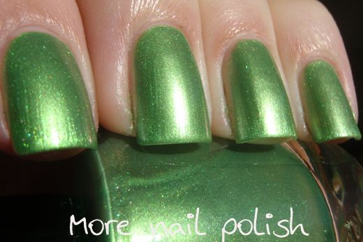 Lilacquer - Super Green - Fifth Element Collection