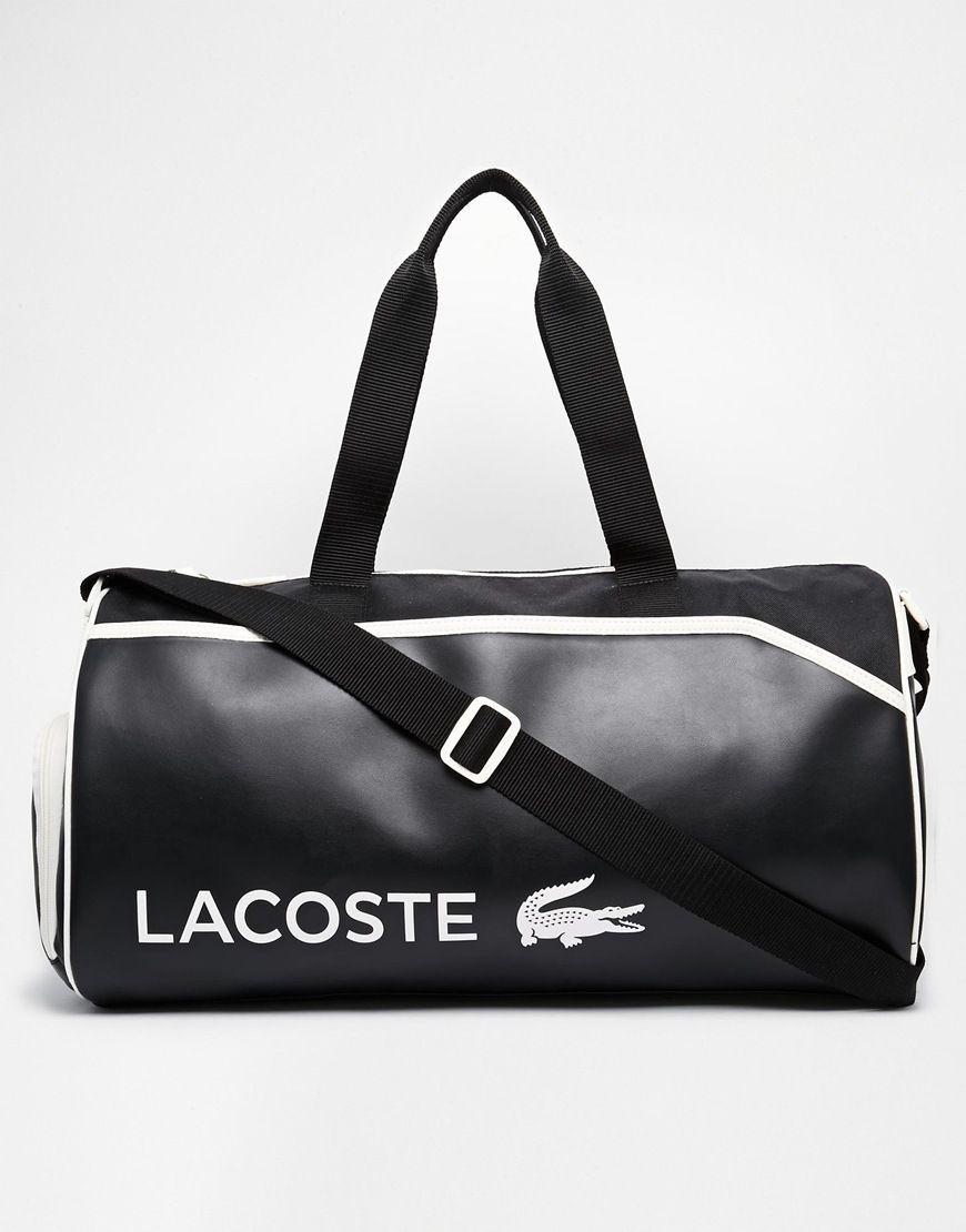 d86101dd359 Lacoste Duffle Bag | bags. | Bags, Lacoste y Gym bag
