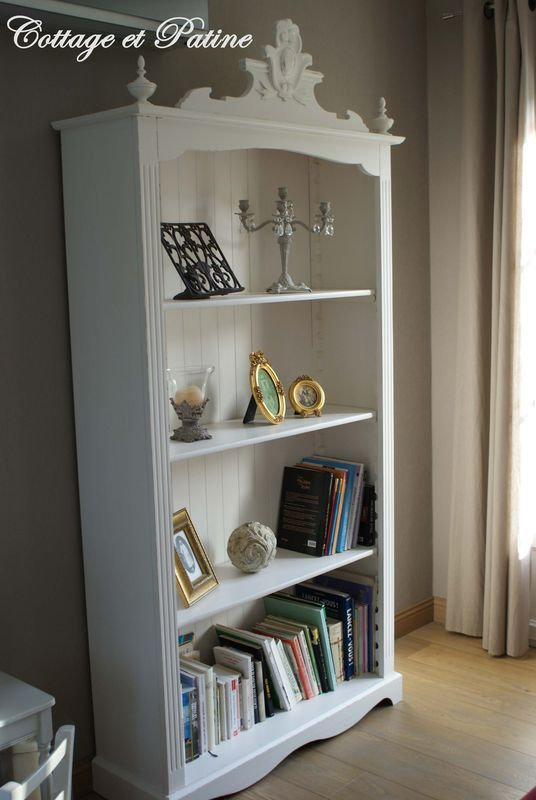 Armoire Into Bookshelf
