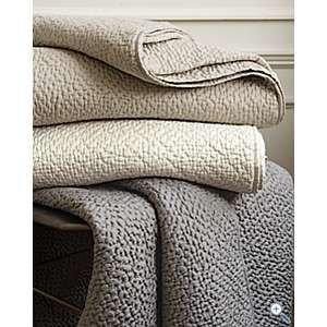 Eileen Fisher Pebble Silk Quilt- another in my MUST SLEEP ON THIS ... : quilted silk bedspread - Adamdwight.com
