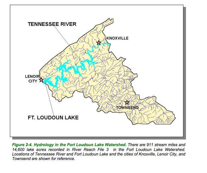 fort loudoun lake map Fort Loudoun Lake Map Boat Ramps Boat Lenoir City Tennessee River fort loudoun lake map
