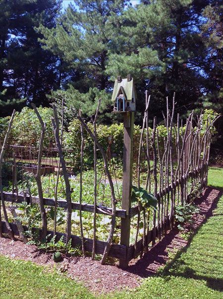 Photo of 30+ Garden Projects using Sticks and Twigs