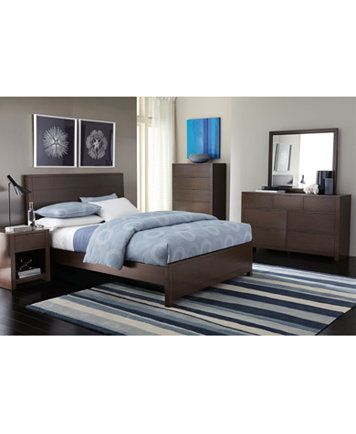 Tribeca California King Bed, Only at Macy\'s - Furniture - Macy\'s ...