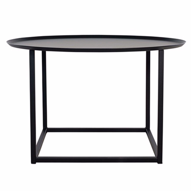 Domo Round Square bord M, svart i gruppen Möbler / Bord / Soffbord ...