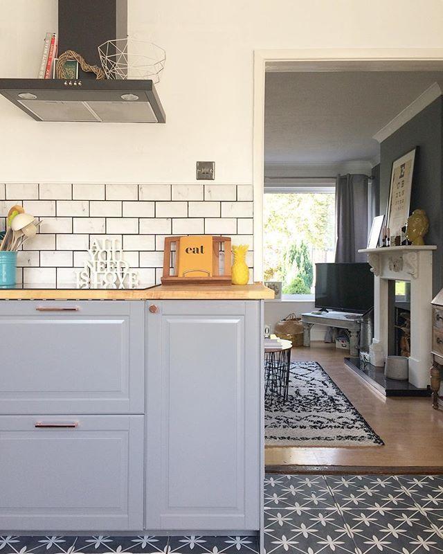 Laura Ashley Wicker Charcoal Wall Floor Tiles 33x33cm Charcoal