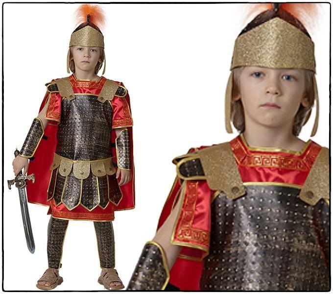 Детский карнавальный костюм русского война