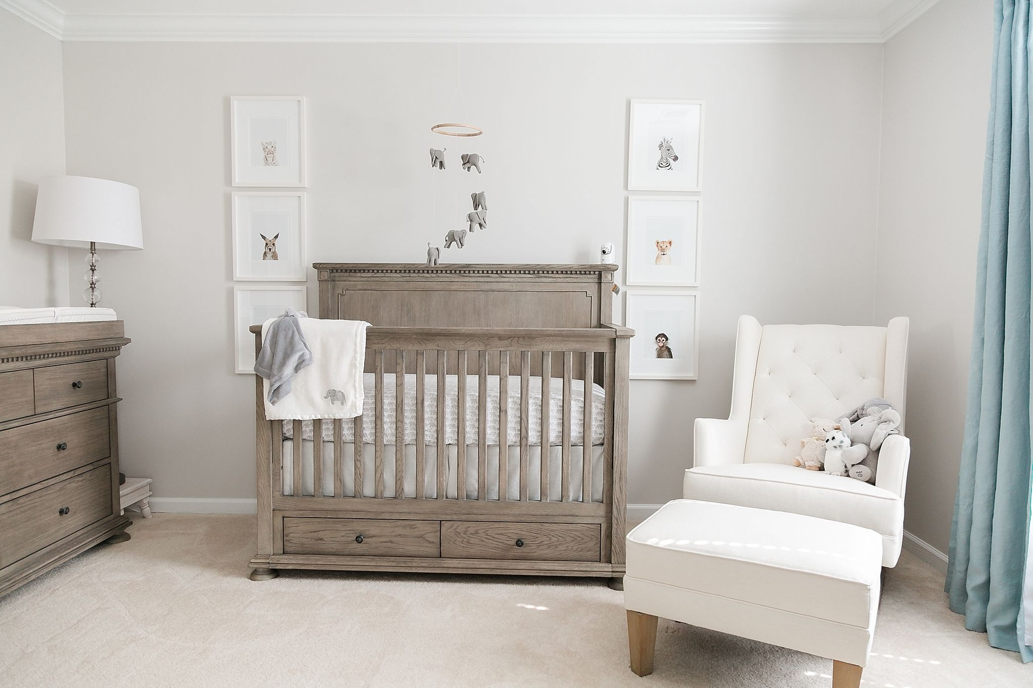 Our Baby Boy S Grey Elephant Nursery Elephant Nursery Boy Calm