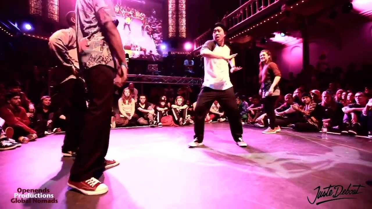 FINALS POPPING Juste Debout 2014