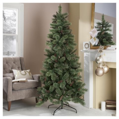 buy 65ft christmas tree vienna sparkle tree from our christmas trees range tesco