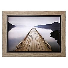 image of Wood Pier Framed Wall Art