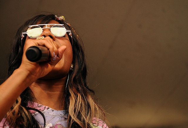 Santigold by oscarinn, via Flickr