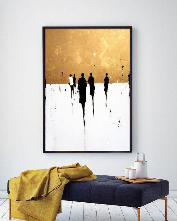 # 1, Leinwandkunst, Ölgemälde, abstrakte Landschaft, abstrakte Kunst, zeitgen...