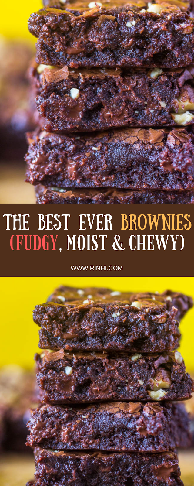 The Best Ever Brownies Fudgy Moist Chewy Best Ever Brownies