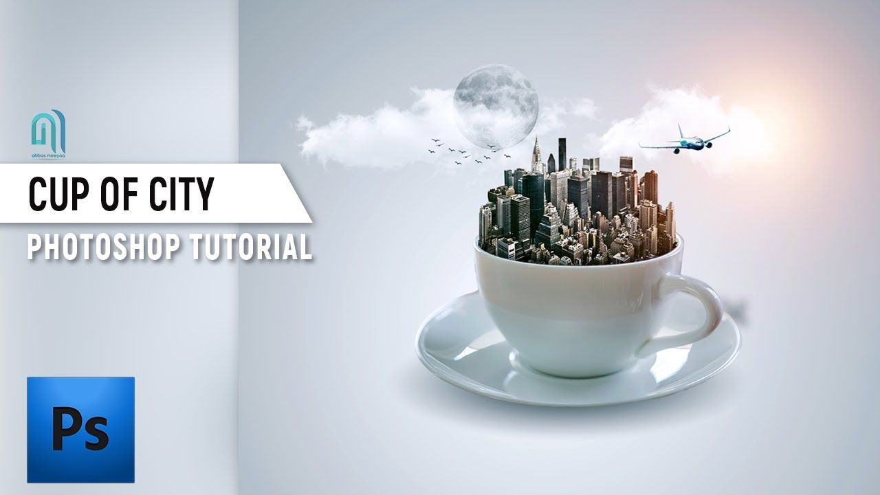 Learn how to create fantasy manipulation for a cup of city in learn how to create fantasy manipulation for a cup of city in adobe photoshop tutorials full baditri Gallery