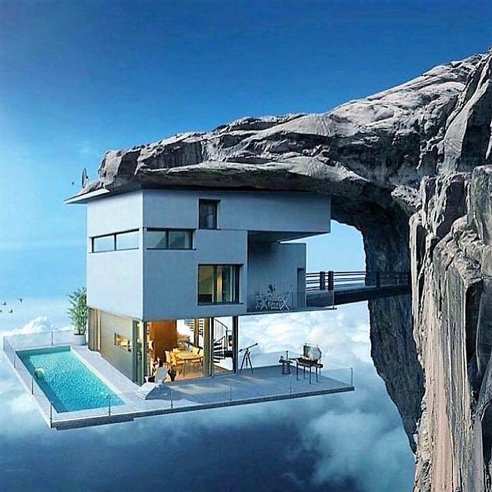 Via delle nuvole vicino al cielo nel 2019 architettura for Case stravaganti