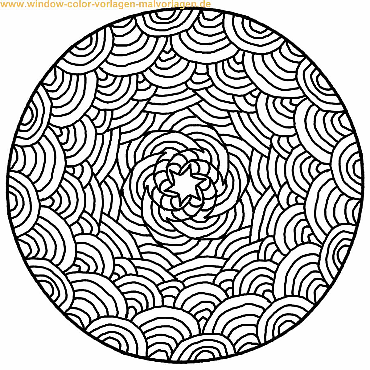 Mandala 007 | patterns | Pinterest | Ausmalbilder, Ausmalen und ...