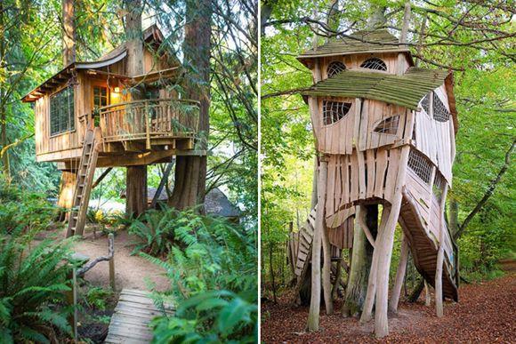 6x Inspirerende Boomhutten : Afbeeldingsresultaat voor boomhut bouwen boomhutten pinterest