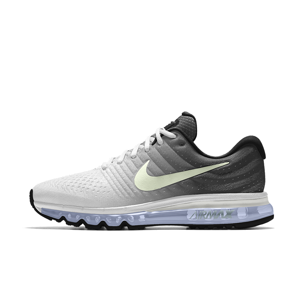 Nike Air Max 2017 iD Men s Running Shoe Size 10.5 (Grey) 587ba19891b7