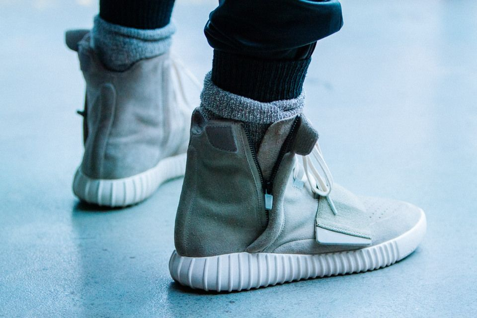 b4a9711ba2973 Kanye West Debuts More adidas Yeezy Footwear at New York Fashion ...