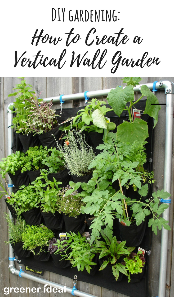 For Those Who Are Looking To Create Beautiful Gardens With Limited Space, A  Vertical Garden Could Be Just What You Need. Check Out The Infographic  Below.