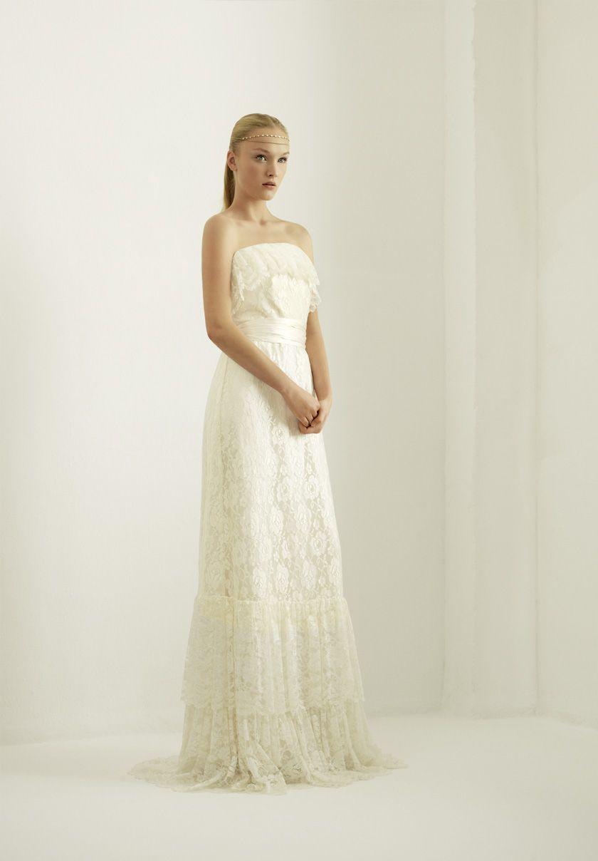 Bridal summer heart otaduy brides pinterest dress