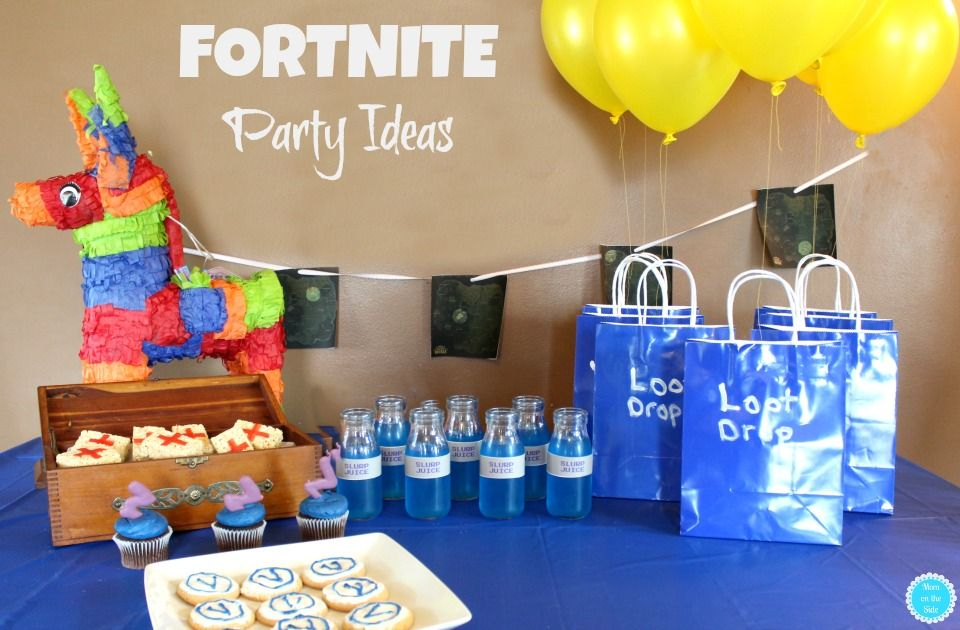 Fortnite Party Ideas Party Ideas Pinterest Party