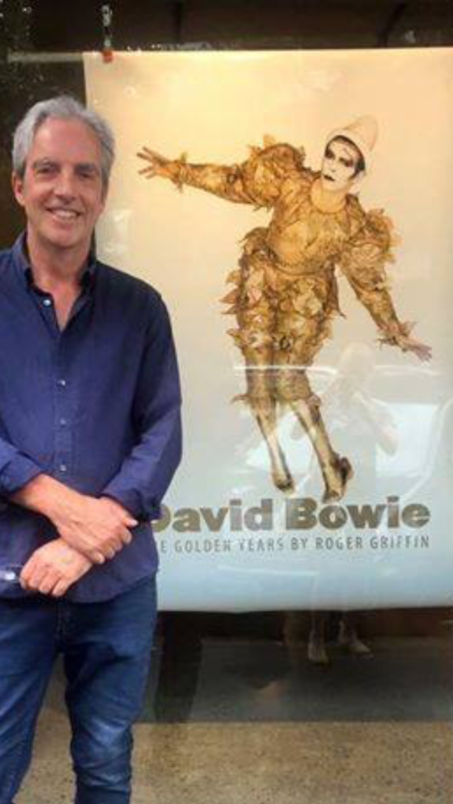 Roger Griffin At The International Launch Of His Exquisite Coffee Table Book David Bowie