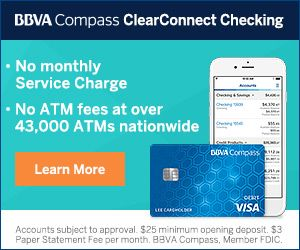 BBVA Free Checking Account | Cardsbull com | BBVA Compass Bank