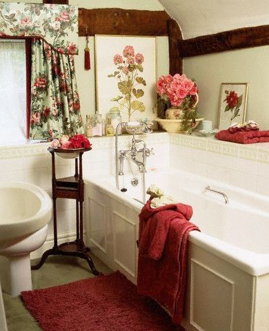 English Country Cottage Style Bathroom Cottage Style Bathrooms
