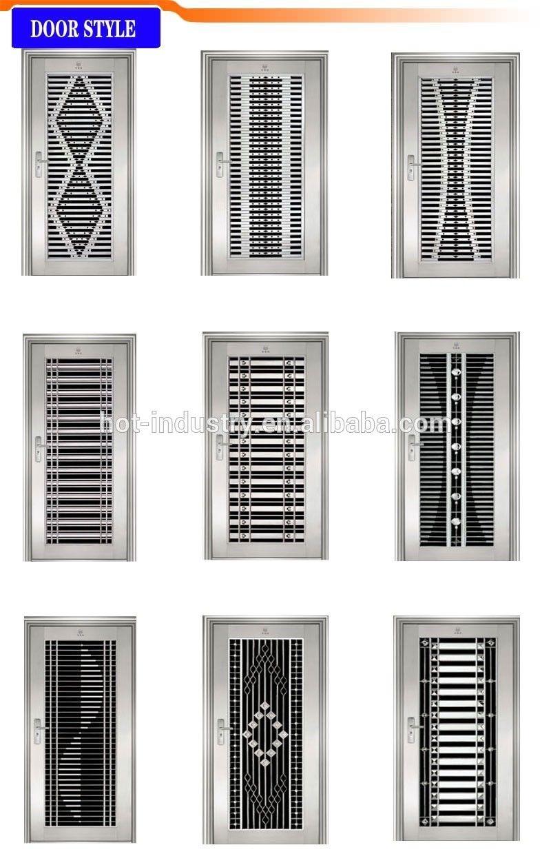 Steel Double Door Design | http://commedesgarconsmademoiselle.com ...