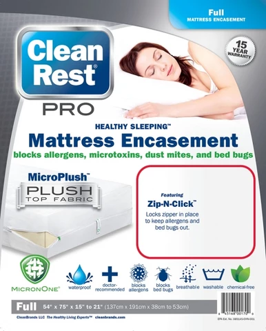 CleanRest Pro Bed Bug Encasements