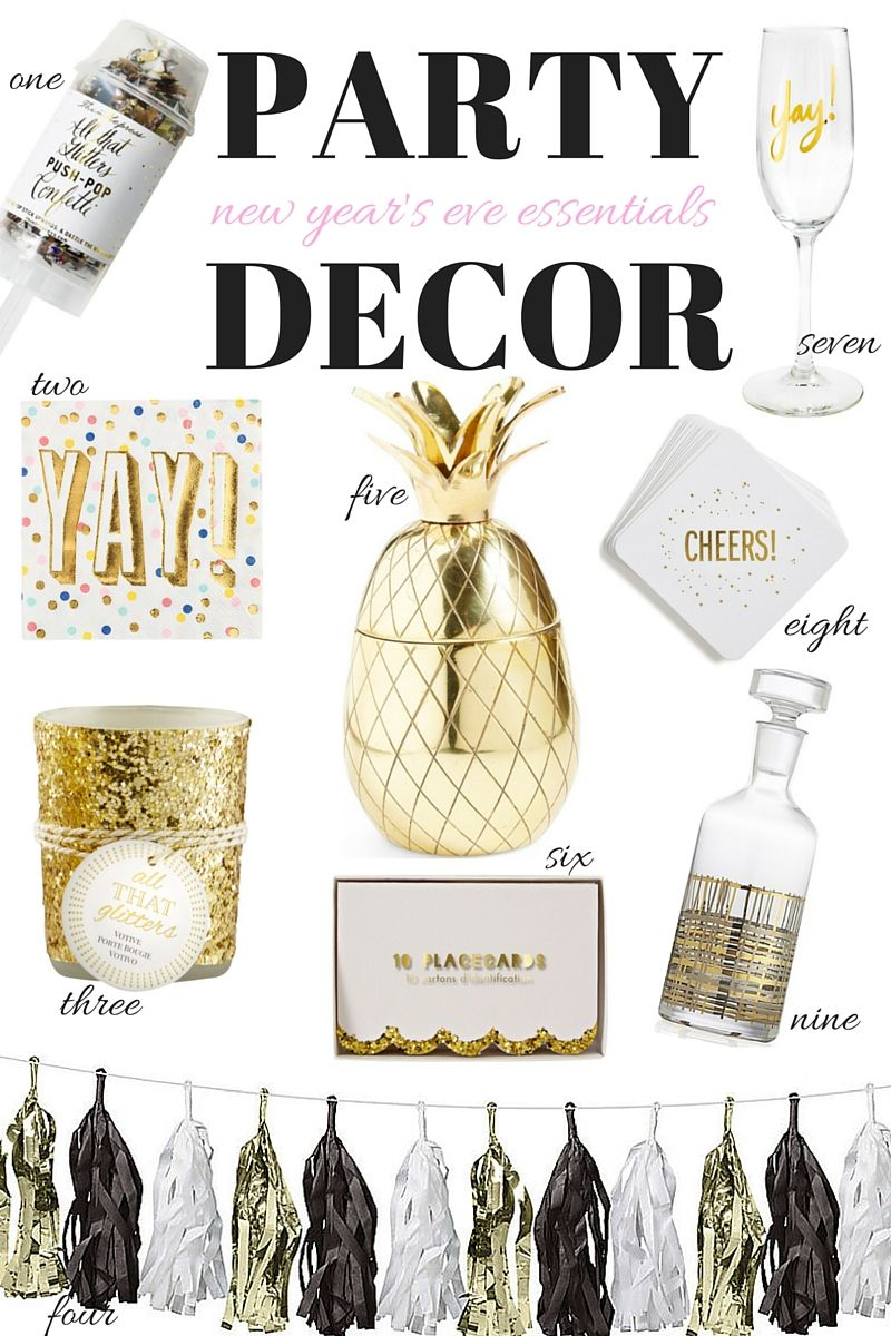 New Year S Eve Party Essentials New Years Eve New Years Eve Party Party Essential