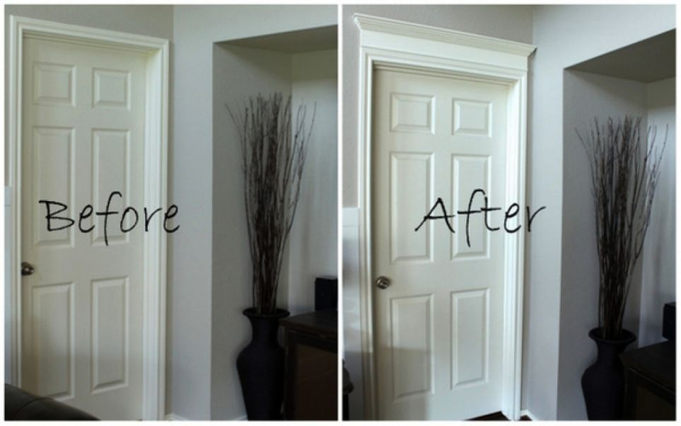 Image Result For Door Casing With Images Home Upgrades Diy Home Improvement Home