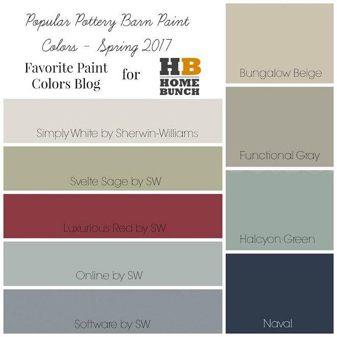 Popular Paint Colors 2017 interior design ideas | paint | pinterest | pottery barn paint
