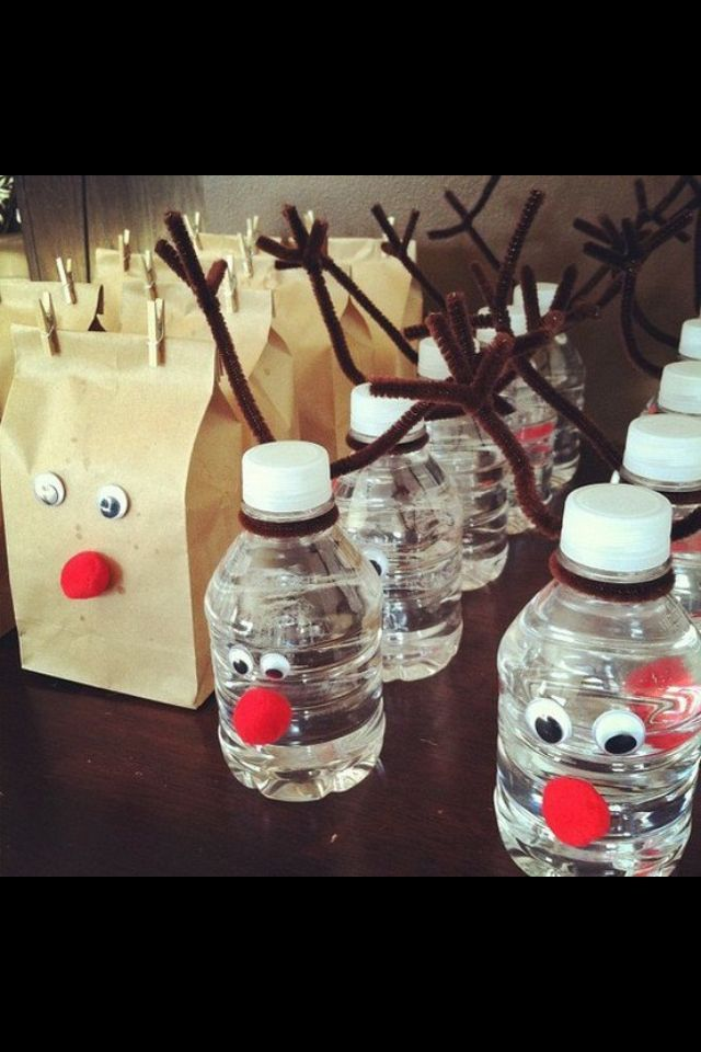 Christmas Party Ideas For School Part - 33: Cute Christmas Party Idea For Party Snacks - No Link/instructions But Looks  Simple