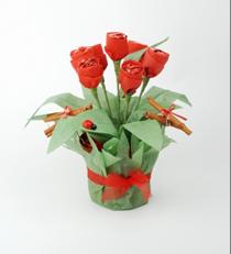 Rosas de  bombom