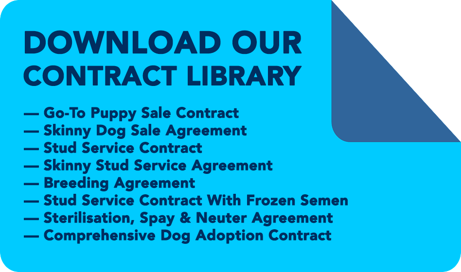 Puppy Sales Contract Library  Critters    Dog Breeders