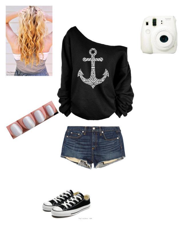 """""""Untitled #6"""" by caught-in-a-dream-xo ❤ liked on Polyvore featuring rag & bone/JEAN, Converse, Fuji, women's clothing, women, female, woman, misses and juniors"""