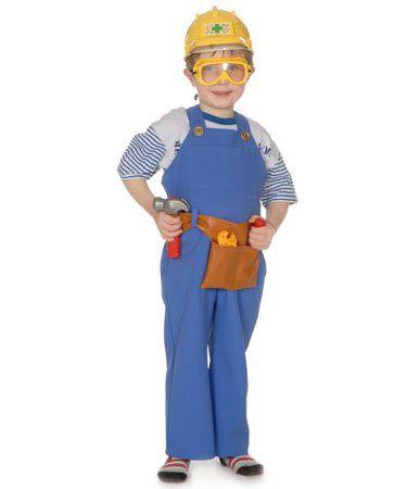 Bob the builder Boys Costume Kids Cartoon Fancy Dress Outfit Licensed Dressup