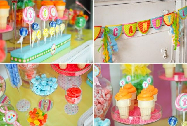 Grayce's Candyland Birthday Party : Anders Ruff Custom Designs :