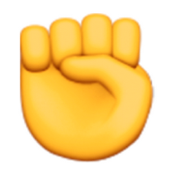 Raised Fist Emoji U 270a U E010 Raised Fist Fist Charlie Sheen Winning