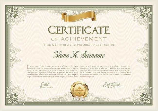 Modelo certificado, Referencia, Certificado, Certificado De