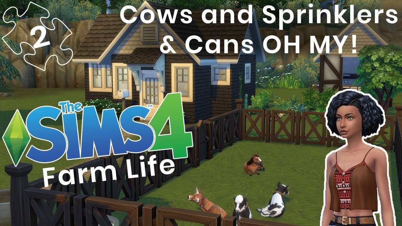 Farm Animals Are Here The Sims 4 Farm Life Cc Animals Sprinklers Sims 4 Sims Life Sim